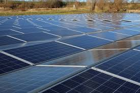 3ooth solar power plant with system design commissioned pv