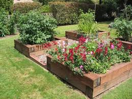 amazing of raised landscape beds small space edible landscape