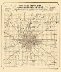 County Map Of Indiana Old County Map Marion Indiana Indianapolis Map 1905