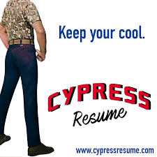 Cypress Resume Builder Account Administration Cypressresume Com