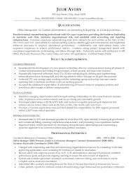 Admin Resume Examples by Admin Manager Resume Examples Resume For Your Job Application