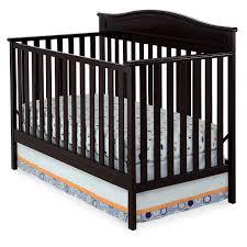 Convertible Crib Mattress Size by Amazon Com Delta Children Larkin 4 In 1 Crib Dark Chocolate Baby