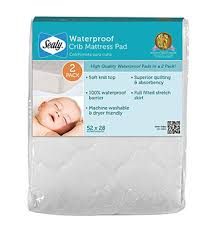 Waterproof Mattress Cover Crib Top 10 Best Safety Crib Mattress Pads April 2018 Acoollist