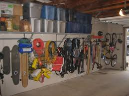 after remodel garage organization ideas with mounted bike hooks after remodel garage organization ideas with mounted bike hooks storage in the corner plus diy pegboard and overhead plastic box storage shelves ideas