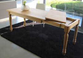 extendable table in solid oak tables furniture furniture