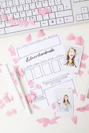 new blog design makeover with kathastrophal via luloveshandmade