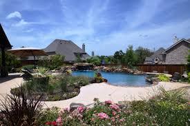 natural backyard oasis