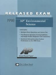 Multiple Choice Questions For Fashion 1998 Ap Environmental Science Exam With Answers By Resource Needer