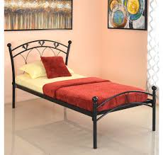 Single Bedroom Buy Hydra Single Bed Without Storage Home By Nilkamal Black