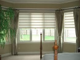 Kitchen Bay Window Treatments Gorgeous Window Blinds Ideas Bay Window Blind Ideas Window