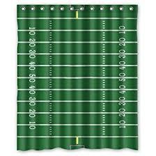amazon com green football field pattern polyester fabric custom