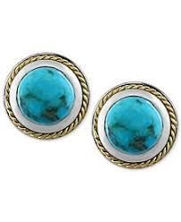 turquoise stud earrings turquoise earrings shop turquoise earrings macy s