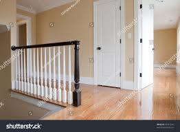 Stairs With Landing by Empty Staircase Landing Detail Stock Photo 43719316 Shutterstock