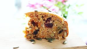spiced sugar free carrot cake made with xylitol instead of sugar