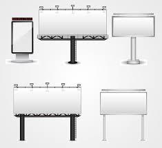 billboard template free vectors ui download