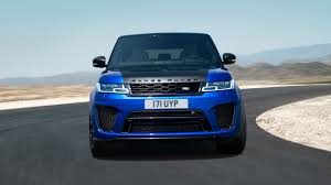 navy land rover 2018 range rover svr high performance suv land rover usa
