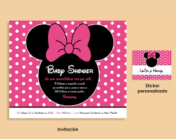 minnie mouse baby shower invitations minnie mouse baby shower invitations online sempak a677d9a5e502
