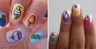 Food Nail Art Designs Dessert Nail Art Nail Nails Art