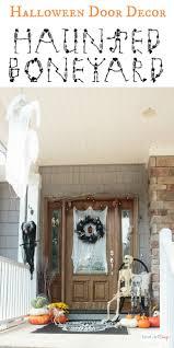 spooky halloween door decorations halloween door decorations