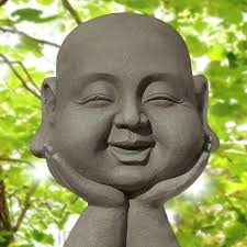 spiritual statues smiling buddha statue domain free photos for