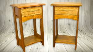 make bedside tables nightstand arts u0026 crafts style