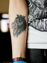 lion tattoo simple for design idea for men and women