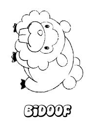 bidoof coloring pages hellokids com