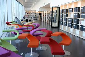 Interior Design Library by Malmö University Library Sweden These Chairs Are So Cool Ea