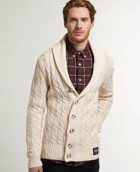 superdry jacob shawl cardigan men u0027s jumpers