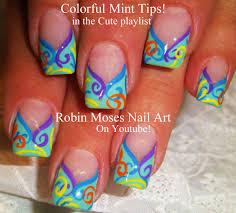 robin moses nail art spring nail art easy pastel zebra print nails