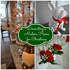 Decorating Home For Christmas Decorating A Modern Home For Christmas Celebrate U0026 Decorate