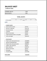 Opening Day Balance Sheet Template Assets And Liabilities Report Balance Sheet At Http