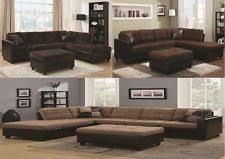 Sectional Microfiber Sofa Microfiber Sectional Sofas Loveseats Chaises Ebay