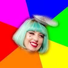 Lady Gaga Meme - create meme lady gaga blue hair lady gaga pictures meme