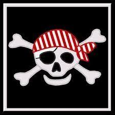 pirate clip free printable illustration of pirate skull