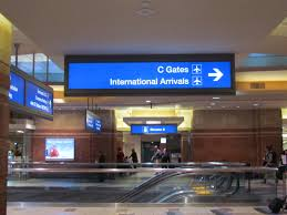 Phoenix Airport Map Terminal 4 by Parking Zones