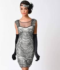 cheap vintage 1920 dresses black for women non sleeve flapper