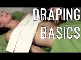Draping Tutorial Massage Tutorial Draping Techniques Even Glutes And Abs Youtube