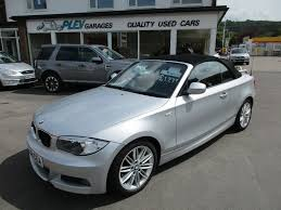 1 Series Convertible Used Bmw 1 Series Convertible 2 0 120d M Sport 2dr In Bristol