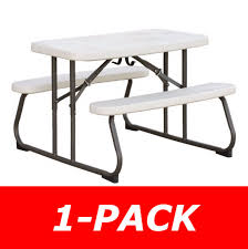 Lifetime Folding Picnic Table 280094 Lifetime Childrens Picnic Table On Sale With Free Shipping