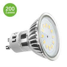 2 5w gu10 led bulb replace 35w halogen lamp warm white le