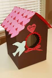 valentin u0027s day bird house card box craft preschool education for
