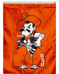 Flag Of Oklahoma 5 Color Oklahoma State University Cowboys Decorative Team American