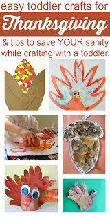 easy thanksgiving crafts for toddlers and tips for parents