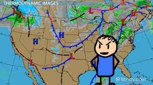 Weather Map For The United States by Types Of Weather Maps U0026 Images Video U0026 Lesson Transcript Study Com