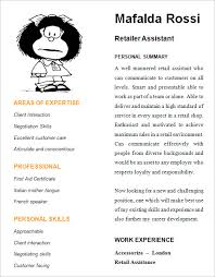 Sample Resume For Retail Assistant by Retail Resume U2013 9 Samples Examples Format