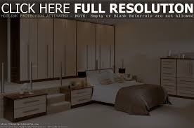 Bedroom Furniture Fitted Bedroom Bespoke Built In Fitted Wardrobe Closet Modern White