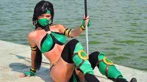 Jade Halloween Costume Wallpaper Jade Cosplay Mortal Kombat Mortal Kombat