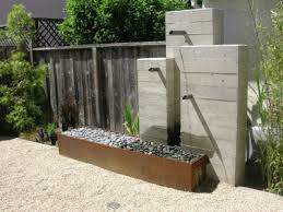 28 concrete wall outdoor water fountain fountains black dog