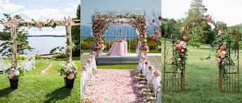 wedding arches decorated with flowers wedding arch ideas you ll fall in with the koch